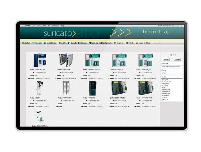 Software de Acompanhamento Suricato Telematica