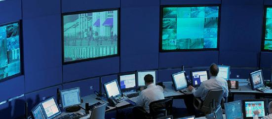 Centro de Comando e controle para o governo